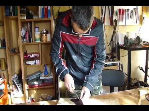 Artesanía con cuero