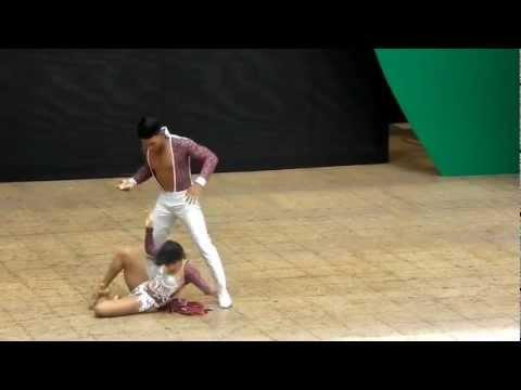 Jhoan y Marcela Eliminatorias Del Mundial De Salsa Cali 2012