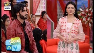 WATCH: Agha Ali and Sara Khan address engagement rumours