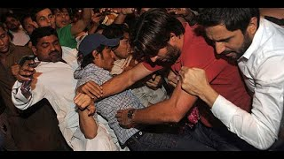 Shahid Afridi Fight Complete Video and Sorry