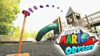 Super Mario Odyssey - TRICK SHOTS