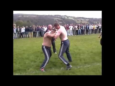 Bare knuckle Boxer VS Kickboxer Copyright Footage Mad Frankie Fraser pick
