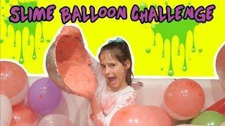 ♥ SLIME BALLOON CHALLENGE! ROBIMY SLIME Z BALONÓW   Pusheen Girl