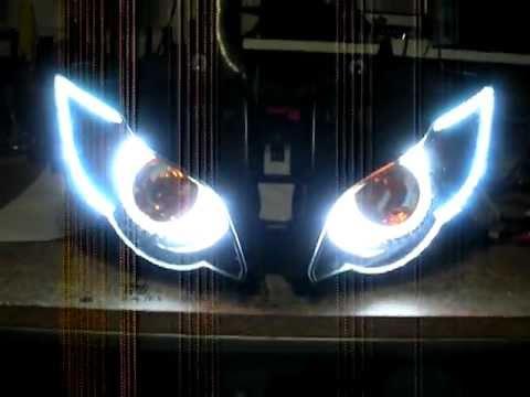 08 11 CBR 1000RR 3 55w HID Bi Xenon Projector Headlight Retro Fit by Sick HIDs