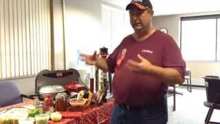 Tips for cooking competition chili with Jeff Eisenbeisz