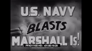 US Navy Blasts Marshall Islands - Pacific War, Makin Island, USS Yorktown, World War II 21110d HD