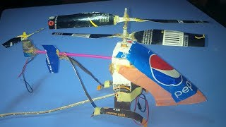 Wow! How to Make Double Rotor Helicopter Spinning in Opposite Direction.Bucee Brain