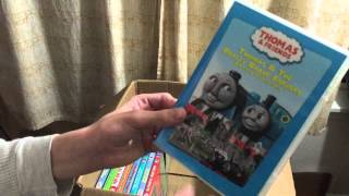 My updated Thomas Train DVD Collection 2015