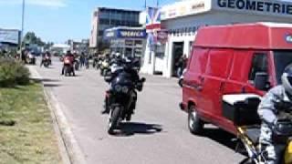 Triumph moto sraz 2005 Hradec Králové