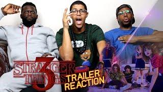 Stranger Things 3 Trailer Reaction
