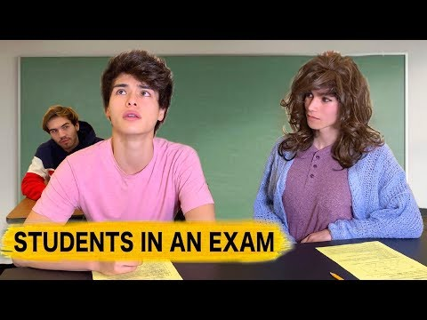 12 Types of Students in an Exam