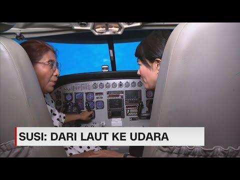 Mengenal Bisnis Susi Pudjiastuti: Dari Laut Ke Udara