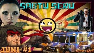#34. KOMPILASI VIDEO LUCU / SERU / NGAKAK GAMER SEJATI !!! Sabtu Seru - Juli #1