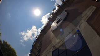 Timelapse of Solar Eclipse over Jordan-Hare Stadium