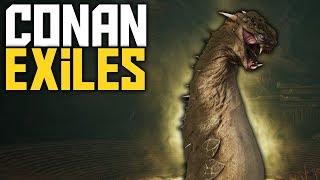 Conan Exiles Season 2 - Abysmal Remnant! Giant Snake Boss - Ep 09 - Conan Exiles Gameplay