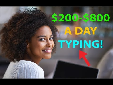 Xxx Mp4 Make Money By Typing Writing 200 To 800 Per Day EASY HACK 3gp Sex