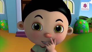 Ten Little Fingers | Popular 3D English Nursery Rhyme By Periwinkle