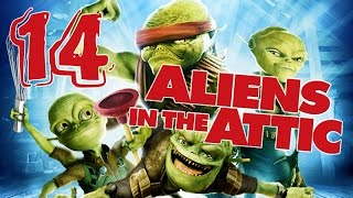 Aliens in the Attic Walkthrough Part 14 (PS2, Wii, PC) Movie Game - Level 14 -