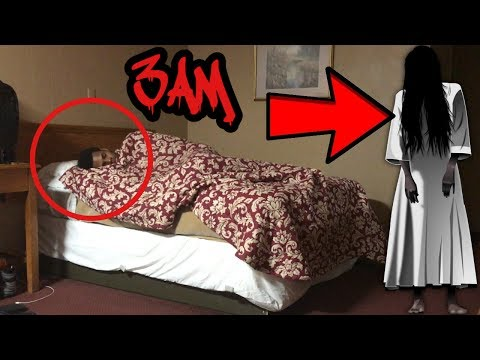 DO NOT RECORD YOURSELF SLEEPING AT 3AM *CREEPY GIRL ATTACKED ME* THIS IS WHY!!!!