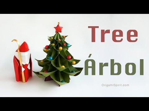 Easy-to-make Christmas Tree :: Árbol de Navidad