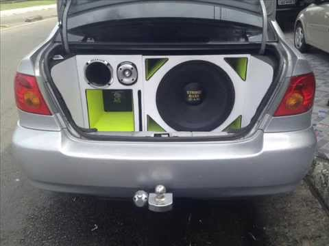 Audio Car som automotivo