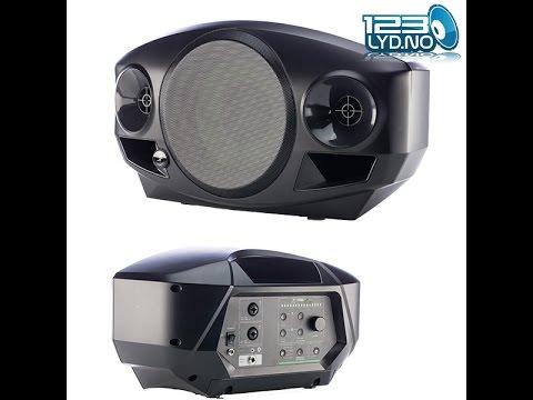 Batteridrevet Høyttaler med Bluetooth til festen med eller uten DJ