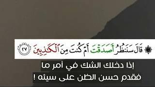 تلاوه لصحاب الصوت الجميل اسلام صبحي 🌷