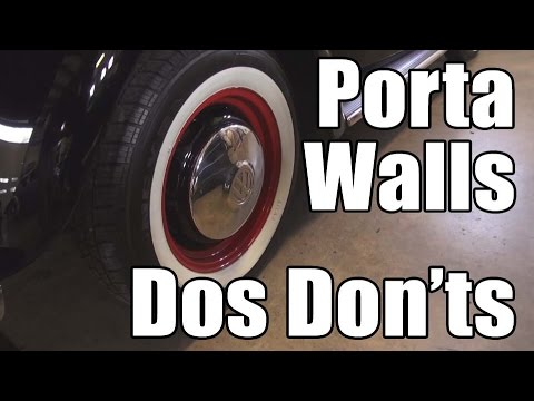 Xxx Mp4 Classic VW BuGs PortaWall White Wall Inserts Truths Myths For Vintage Beetle Restoration 3gp Sex