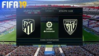FIFA 19 - Atlético Madrid vs. Athletic de Bilbao @ Wanda Metropolitano