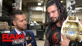 Roman Reigns will honor his family's legacy at Raw 25: Raw Fallout, Jan. 15, 2018