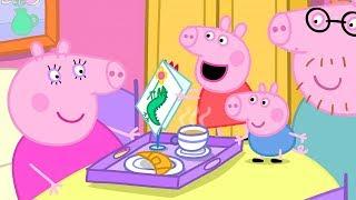 Peppa Pig Nederlands Compilatie Nieuwe Afleveringen 🎂 Mama Big's Verjaardag 🎂 Tekenfilm