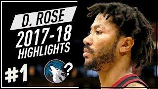Derrick Rose VINTAGE Offense Highlights 2017-2018 (Part 1) - Joining Timberwolves?