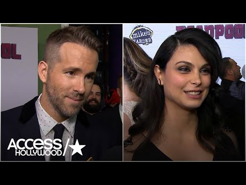 Xxx Mp4 Ryan Reynolds Morena Baccarin Dish On Deadpool Sex Scenes At NYC Premiere Access Hollywood 3gp Sex