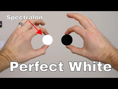 Spectralon—The World s Whitest White Reflects Over 99 of Visible Light vs Black 3.0