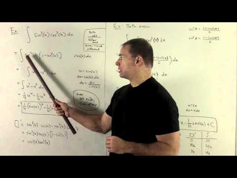 Integrals with cos^m(x) sin^n(x)