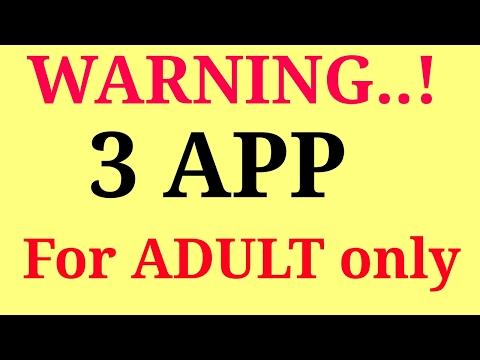 Xxx Mp4 Top 3 Secrete Adult App Don39t Seen Below 18 3gp Sex