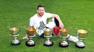 11 UN-BREAKABLE Records That Make Lionel Messi The OFFICIAL GOAT of Football #D10S ||HD||