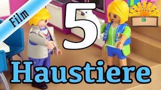 5 ARTEN von HAUSTIEREN! Playmobil Film deutsch | Hunde, Katzen, Schweine und und und :-)