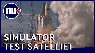 Zo test het Europese ruimtecentrum ESA satellieten in een simulator | NU.nl