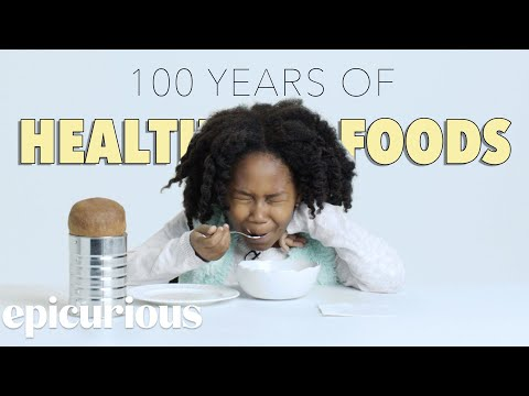 Kids Try 100 Years of Health Foods Bon Appetit