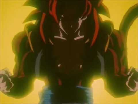 Il guerriero supremo Gogeta super sayan 4