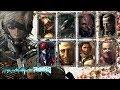 Metal Gear Rising - All Vocal Boss Themes + On Screen Lyrics