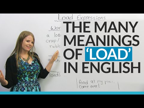 Xxx Mp4 The Many Meanings Of LOAD In English 3gp Sex