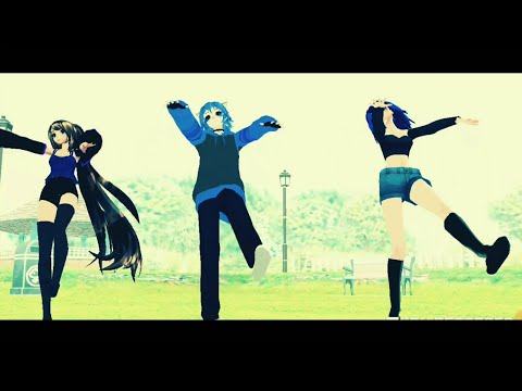 [[MMD]] The Middle | ft. Gacha Tubers | Motion DL