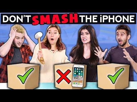 Don t SMASH The iPhone Couple vs BFFs Challenge Chalice