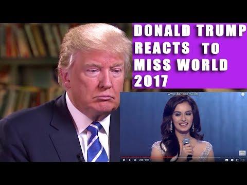 Xxx Mp4 OMG Donald Trump Reaction On Miss World FINALE 3gp Sex
