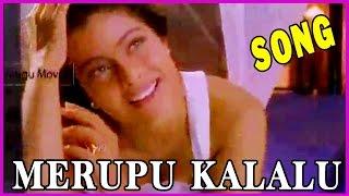 Merupu Kalalu (వెన్నెలవే వెన్నెలవే )- Telugu Video Songs -Aravind swamy,Prabhu deva,Kajol