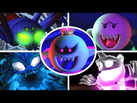 Luigi s Mansion Dark Moon All Bosses 3 Star Rank No Damage