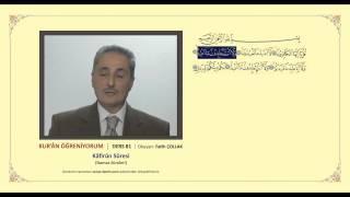 Kuran Öğreniyorum 81 -  Kafirun Suresi (Fatih Çollak)