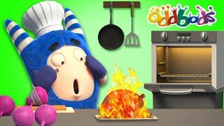 FIRE SAFETY - Oddbods New Episodes | Funny Cartoons For Children